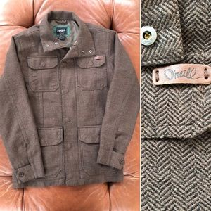 O'Neill Herringbone Jacket Lightweight Small